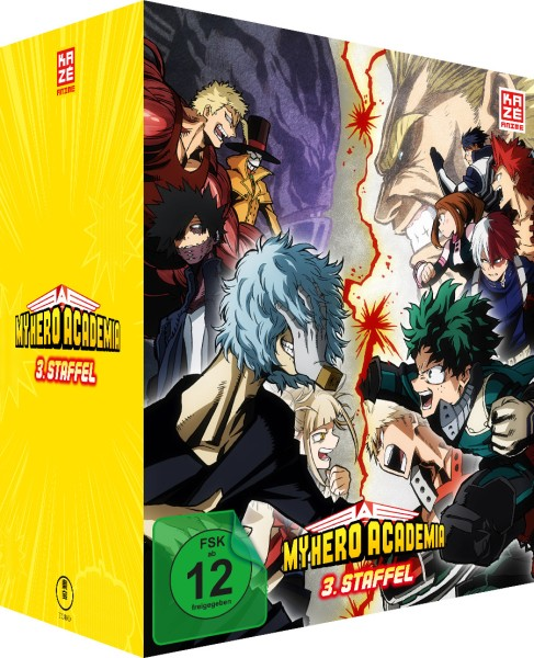 My Hero Academia: 3. Staffel - Volume 01 (Limited Edition & Sammelschuber) [DVD]