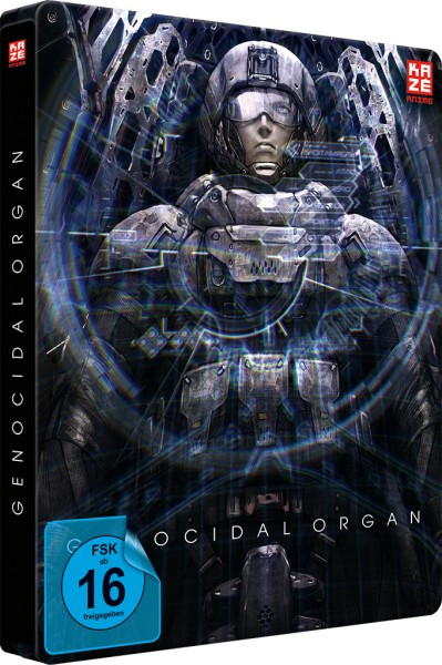 Project Itoh: Genocidal Organ (Collector's Edition) [Blu-ray/DVD]