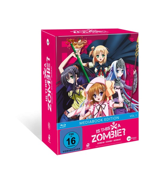 Is This A Zombie? - Volume 01 (Limited Mediabook) [Blu-ray]
