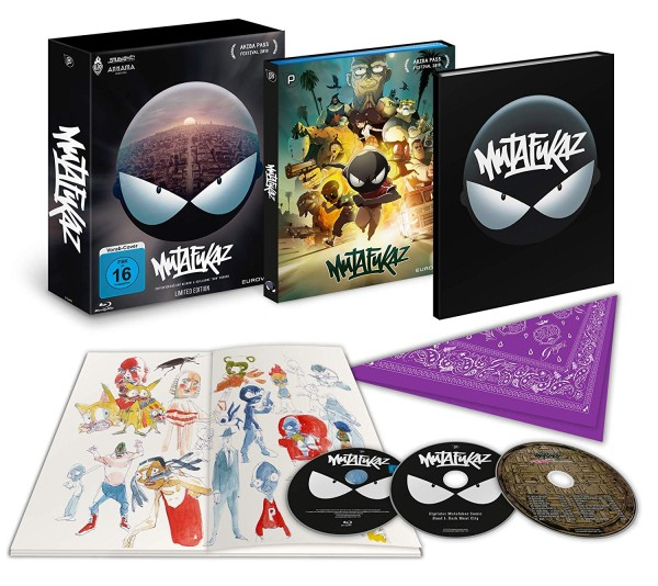 Mutafukaz (Limited Edition) [Blu-ray]