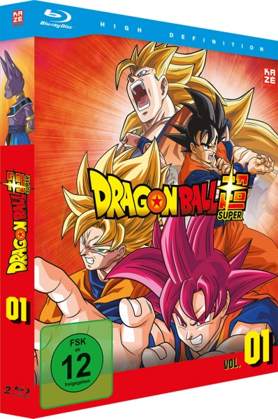Dragonball Super - Volume 01 Box [2 Blu-rays]