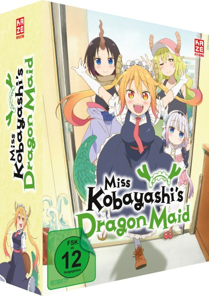 Miss Kobayashi's Dragon Maid - Volume 01 & Sammelschuber (Limited Edition) [DVD]