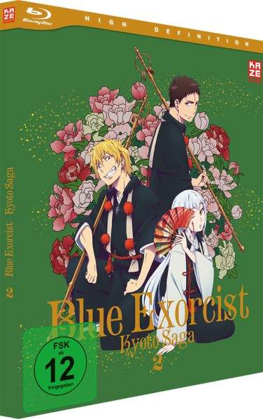 Blue Exorcist: Kyoto Saga / 2. Staffel - Volume 02 [Blu-ray]