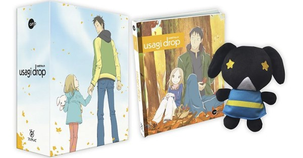 Usagi Drop - Volume 01 (Limited Mediabook inkl. Plüschhase & Sammelschuber) [Blu-ray]