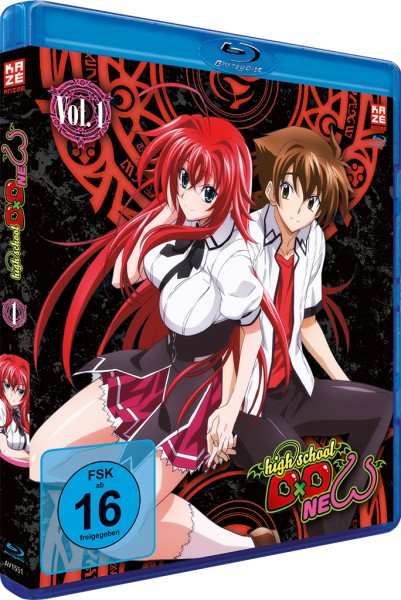 Highschool DxD New: 2. Staffel - Volume 01 [Blu-ray]