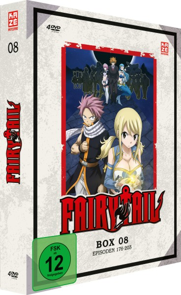 Fairy Tail - Volume 08 Box (7. Staffel) [4 DVDs]