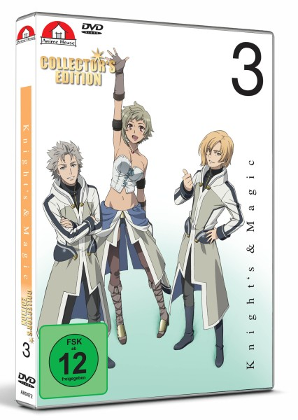 Knight's & Magic - Volume 03 (Limited Collector's Edition) [DVD]