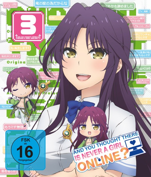 And you thought there is never a girl online? - Volume 03 [Blu-ray]