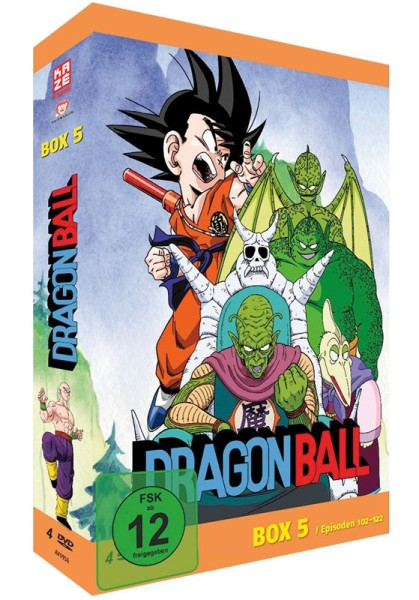 Dragonball: Die TV-Serie - Volume 05 Box [4 DVDs]