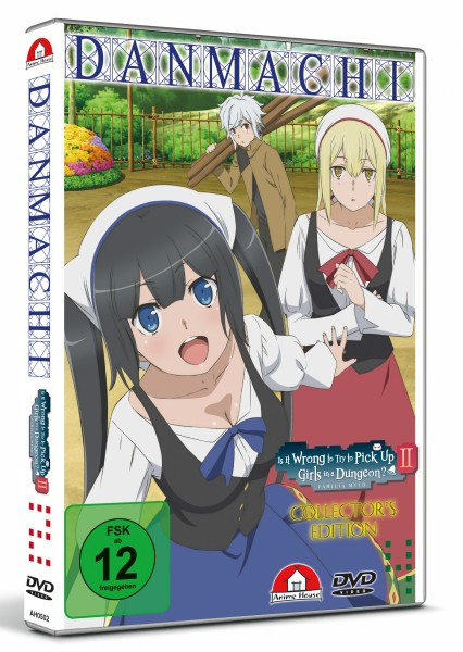 DanMachi: Is It Wrong to Try to Pick Up Girls in a Dungeon? II - Volume 04 (Limited) [DVD]