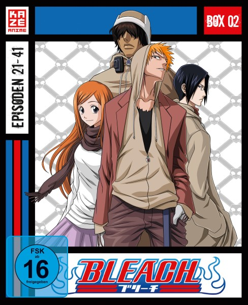 Bleach: Die TV-Serie - Volume 02 Box [3 Blu-rays]