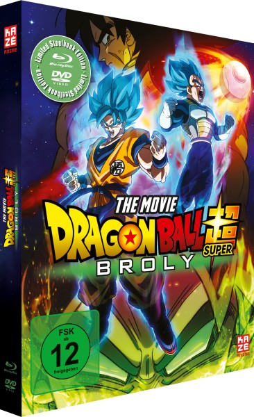 Dragonball Super: Broly (Limited Steelbook Edition) [Blu-ray/DVD]