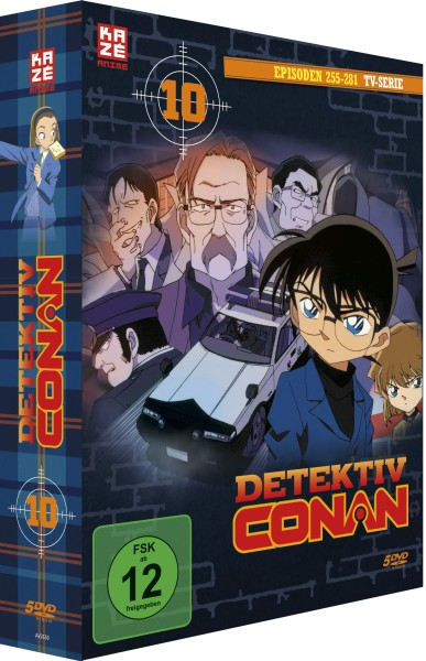 Detektiv Conan: Die TV-Serie - Volume 10 Box (Staffel 4) [5 DVDs]