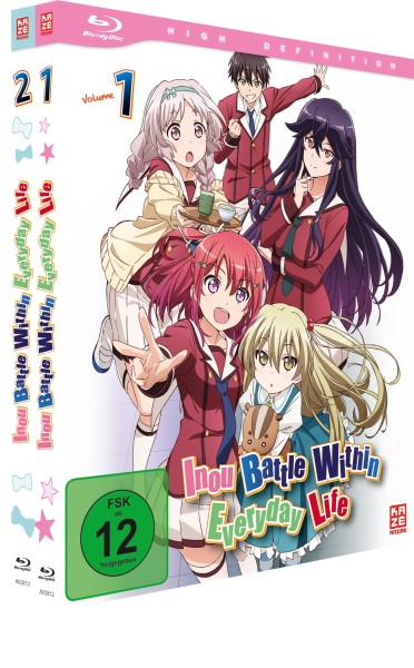 Inou Battle Within Everyday Life - Gesamtausgabe [2 Blu-rays]