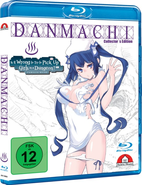 DanMachi: Is It Wrong to Try to Pick Up Girls in a Dungeon? OVA (Limited Collector's Edition) [Blu-r
