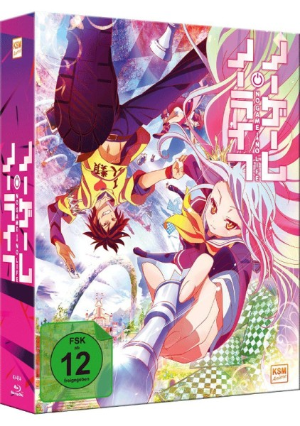No Game No Life - Volume 01 & Sammelschuber (Limited) [Blu-ray]