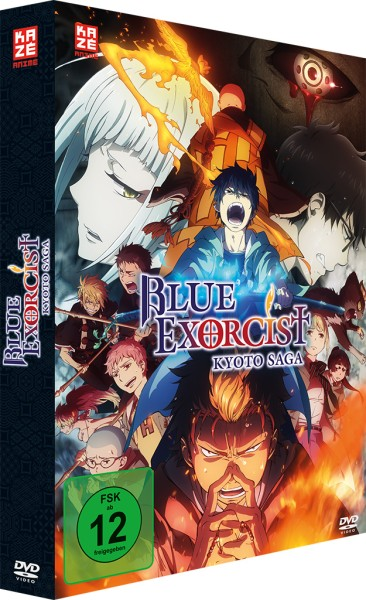 Blue Exorcist: Kyoto Saga / 2. Staffel - Volume 01 & Sammelschuber (Limited Edition) [DVD]