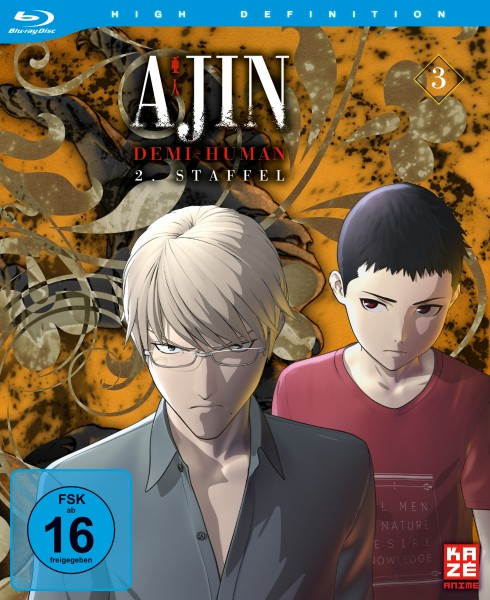 Ajin: Demi-Human - Volume 03 (Staffel 2) [Blu-ray]