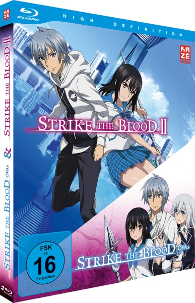 Strike the Blood Second / Strike the Blood OVAs Box [2 Blu-rays]