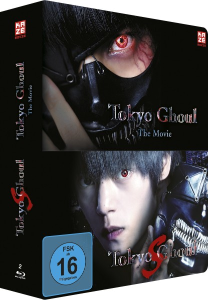 Tokyo Ghoul - The Movie 1 & 2 (Limited Steelcase Collection) [2 Blu-rays]