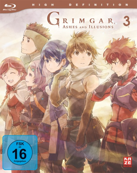 Grimgar, Ashes & Illusions - Volume 03 [Blu-ray]