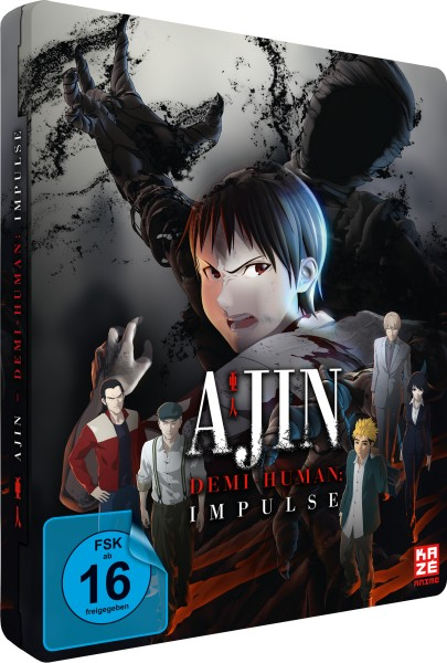 Ajin - Demi-Human: Impulse / Movie #1 (Limited Edition Steelcase) [Blu-ray]