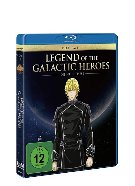 Legend of the Galactic Heroes: Die neue These - Volume 01 [Blu-ray]