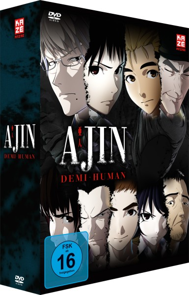 Ajin: Demi-Human - Volume 01 & Sammelschuber (Limited Edition) [DVD]