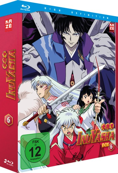 InuYasha: Die TV-Serie - Volume 06 Box (4. Staffel) [3 Blu-rays]