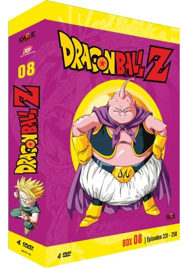 Dragonball Z - Volume 08 Box [4 DVDs]