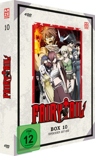 Fairy Tail - Volume 10 Box (8. Staffel) [4 DVDs]