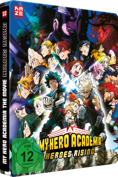 My Hero Academia - The Movie: Heroes Rising (Limited Edition Steelbook) [DVD]
