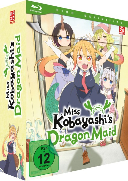 Miss Kobayashi's Dragon Maid - Volume 01 & Sammelschuber (Limited Edition) [Blu-ray]
