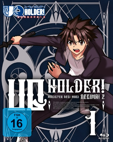 UQ Holder! - Volume 01 [Blu-ray]