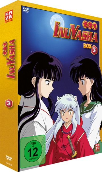 InuYasha: Die TV-Serie - Volume 03 Box (New Edition) [7 DVDs]