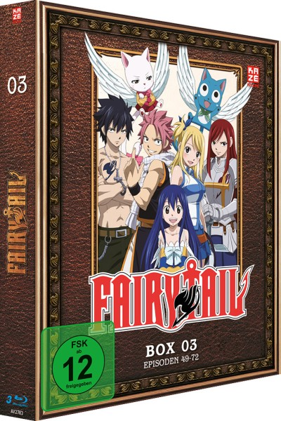 Fairy Tail - Volume 03 Box [3 Blu-rays]