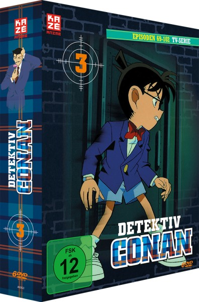 Detektiv Conan: Die TV-Serie - Volume 03 Box [6 DVDs]