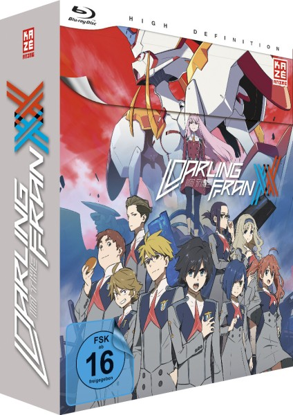 Darling in the Franxx - Volume 01 & Sammelschuber (Limited Edition) [Blu-ray]