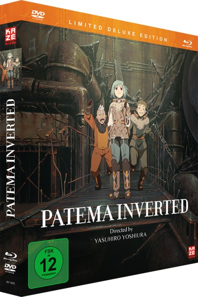Patema Inverted (Deluxe Edition) [Blu-ray/DVD]
