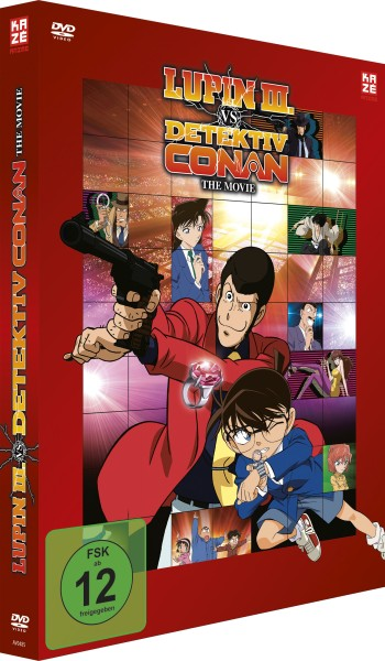 Lupin III vs. Detektiv Conan - The Movie (Limited Edition) [DVD]