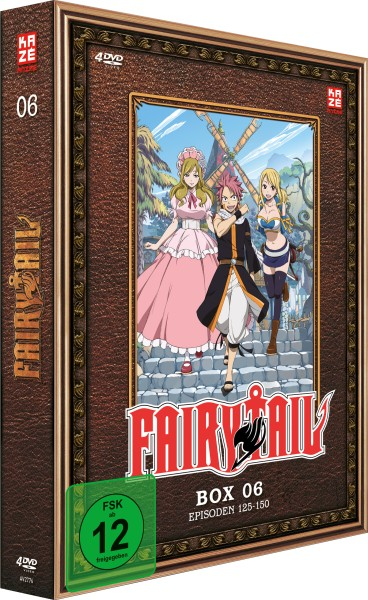 Fairy Tail - Volume 06 Box [4 DVDs]