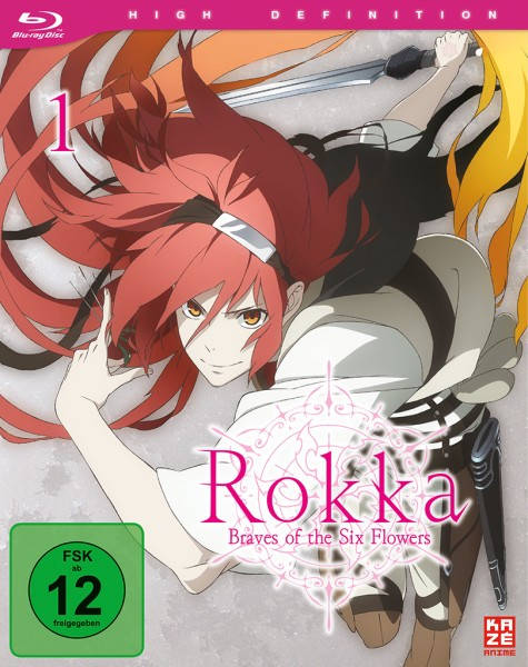 Rokka: Braves of the Six Flowers - Volume 01 [Blu-ray]